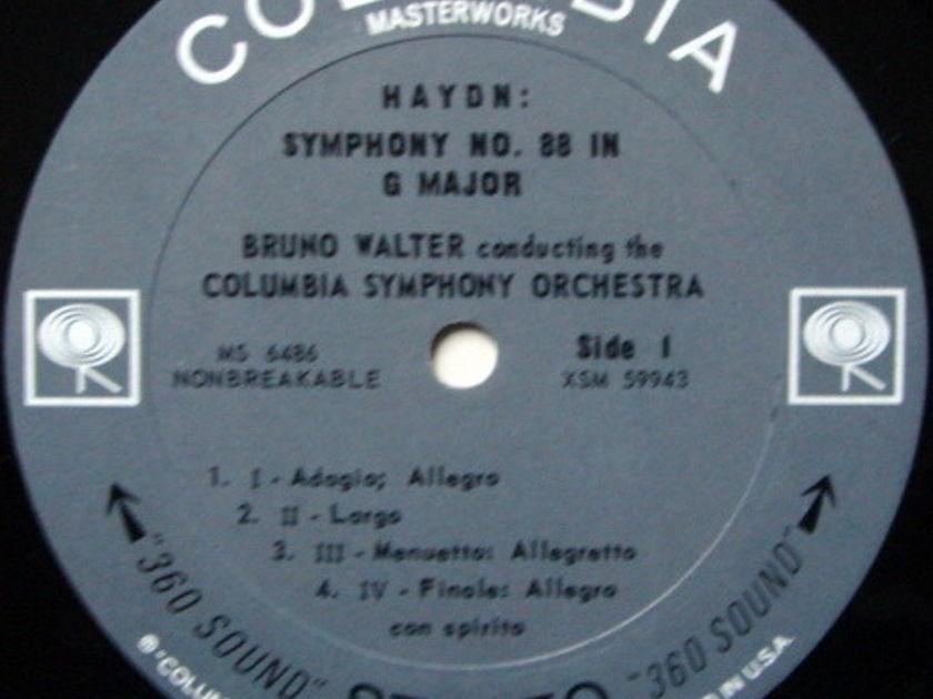 Columbia 2-EYE / BRONO WALTER, - Haydn Symphonies No.88 & 100 Military, MINT!