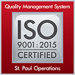 Logo for ISO 9001 : 2015 Certification