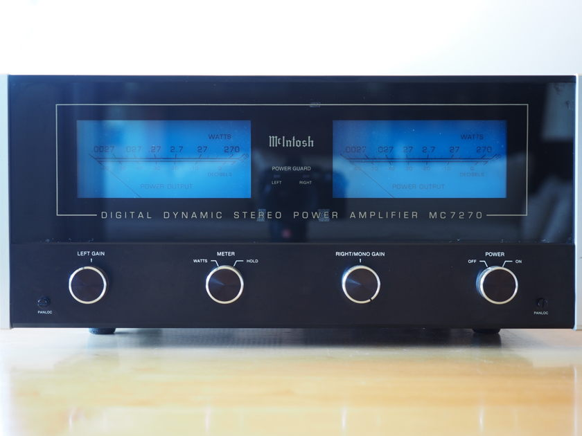 McIntosh MC-7270 $75.00 flat rate shipping to lower 48