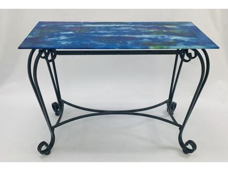 Celestial Glass Table