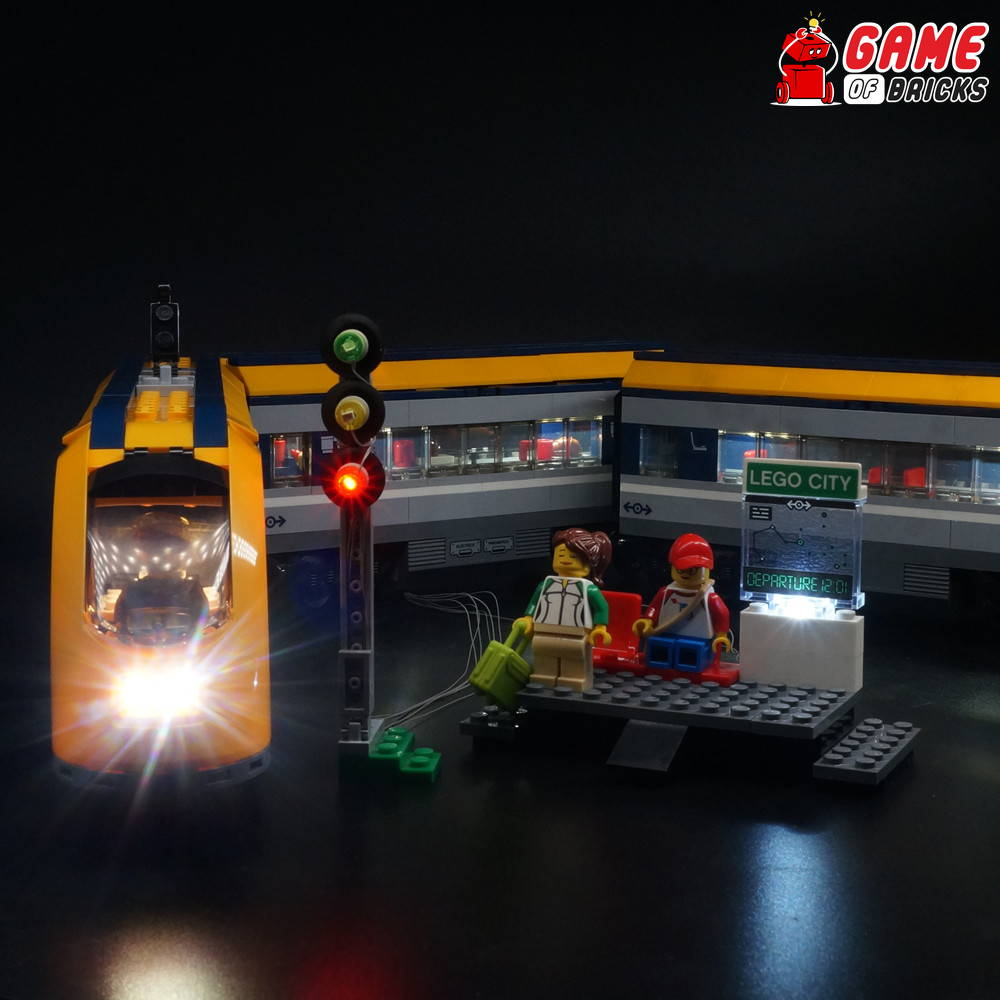 lego led light for passenger train 60197