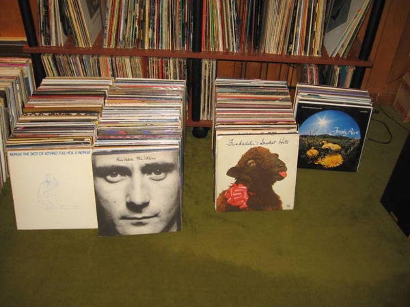 Rock Jazz Classical - Various Artist 320 lp's for $800.00