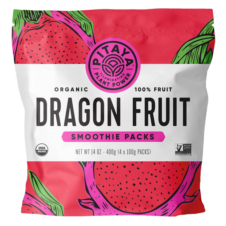 Pitaya Organic Dragon Fruit Smoothie Packs