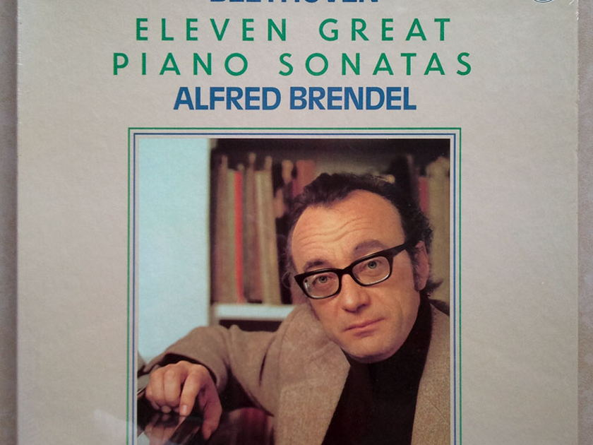 Sealed/Philips/Brendel/Beethoven - Eleven Great Piano Sonatas / 4-LP Box Set