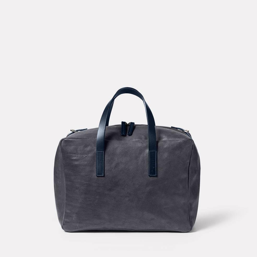 Ally Capellino Jago Bowler Calvert Leather Bag in Dark Skies