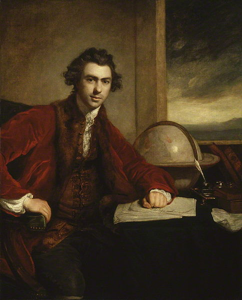 Joseph Banks Esq 1774 by Sir Joshua Reynolds