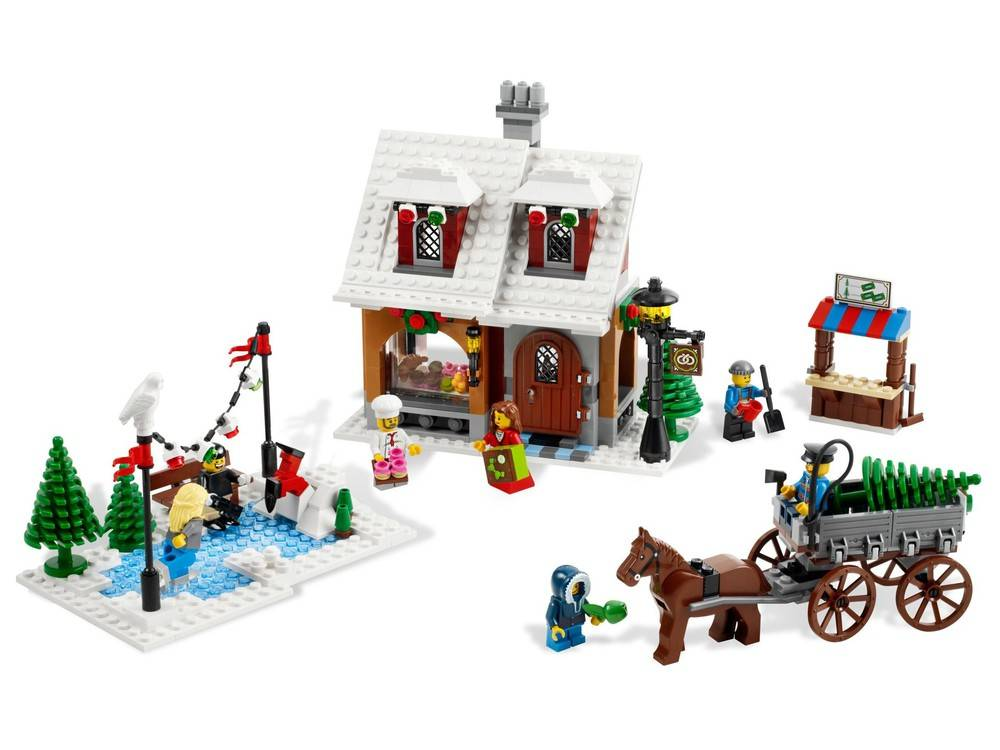 LEGO Winter Village Bakery 10216