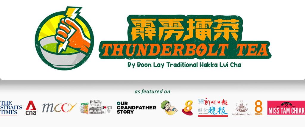 Thunderbolt Tea by Boon Lay Traditional Hakka Lui Cha