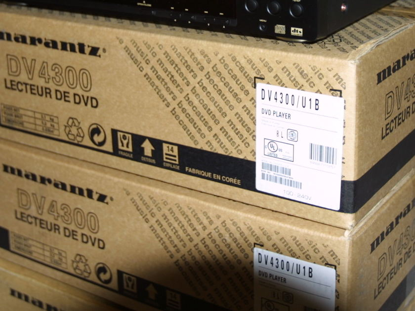 Marantz DV4300 BlueRay DVD Player