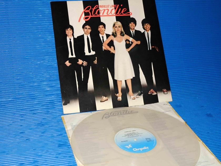 """BLONDIE - """"Parallel Lines"""" - Chrysalis  1978 Dutch Pressing - Clear Vinyl"""
