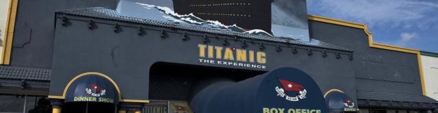 Экскурсии в Орландо. Музей Titanic The Experience (Титаник)