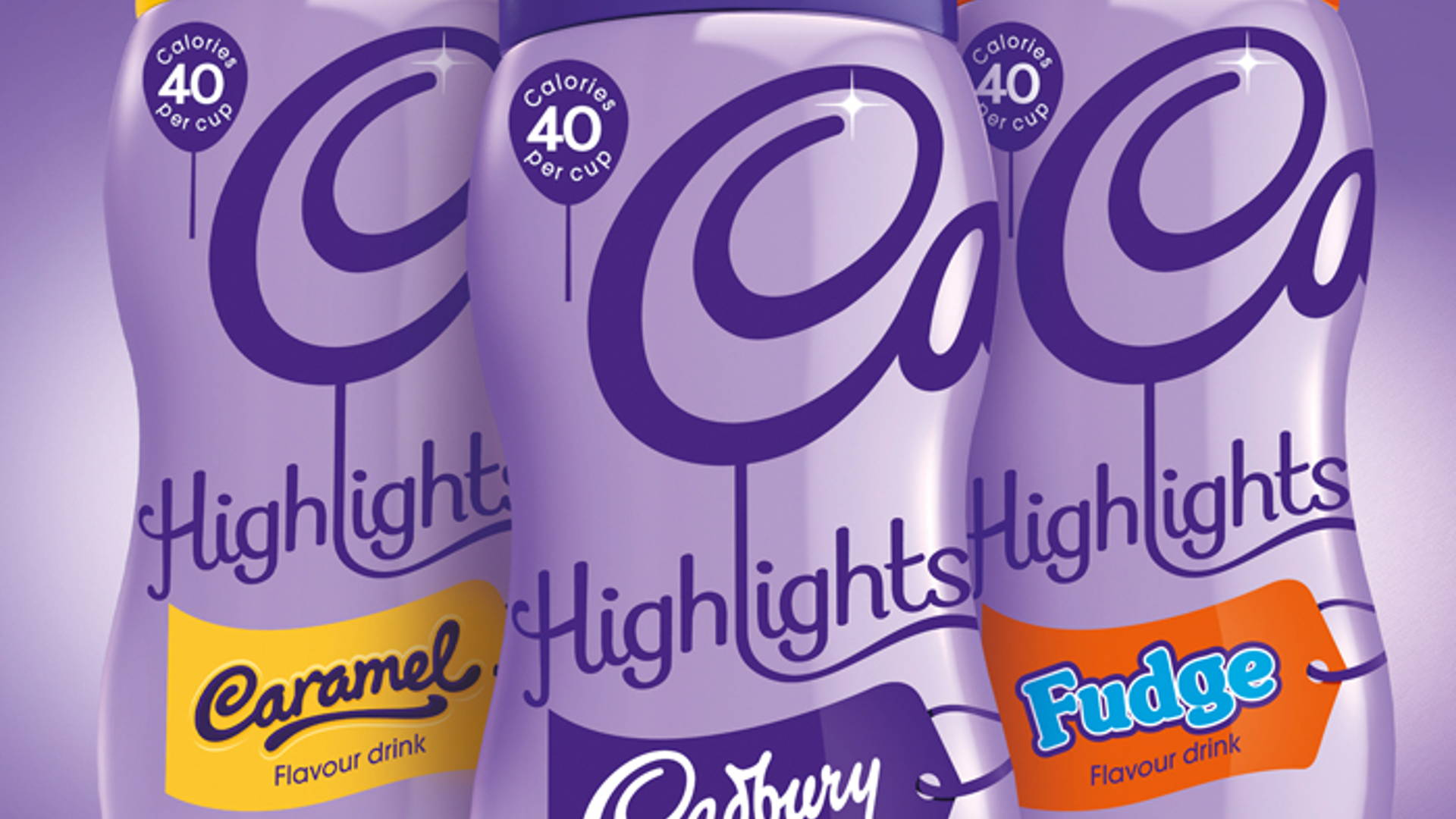 Cadbury Hot Chocolate Dieline