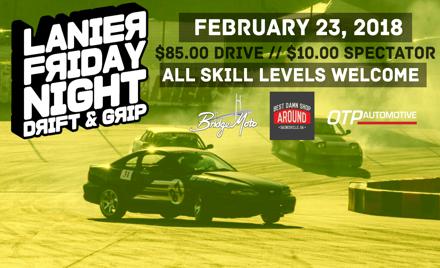 Drift&Grip #1 - Lanier Raceplex