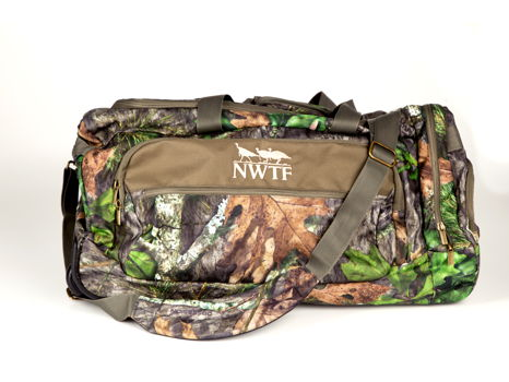 2 PC Duffel Trolley Bag Set - Camo