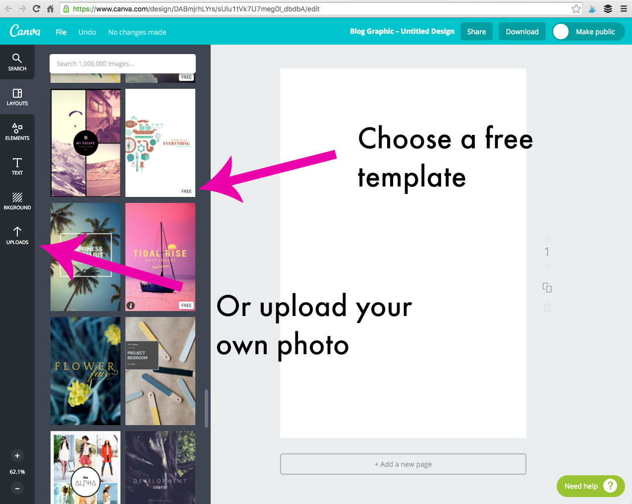 Bridgid Gallagher - How to Make a Blog Post Image Template