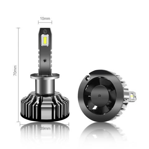 Dimension H1 LED Forward lighting Kits Bulbs Fog Lights for Cars Trucks