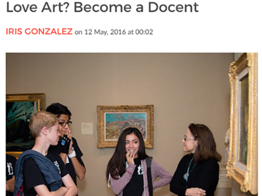 Become a Docent