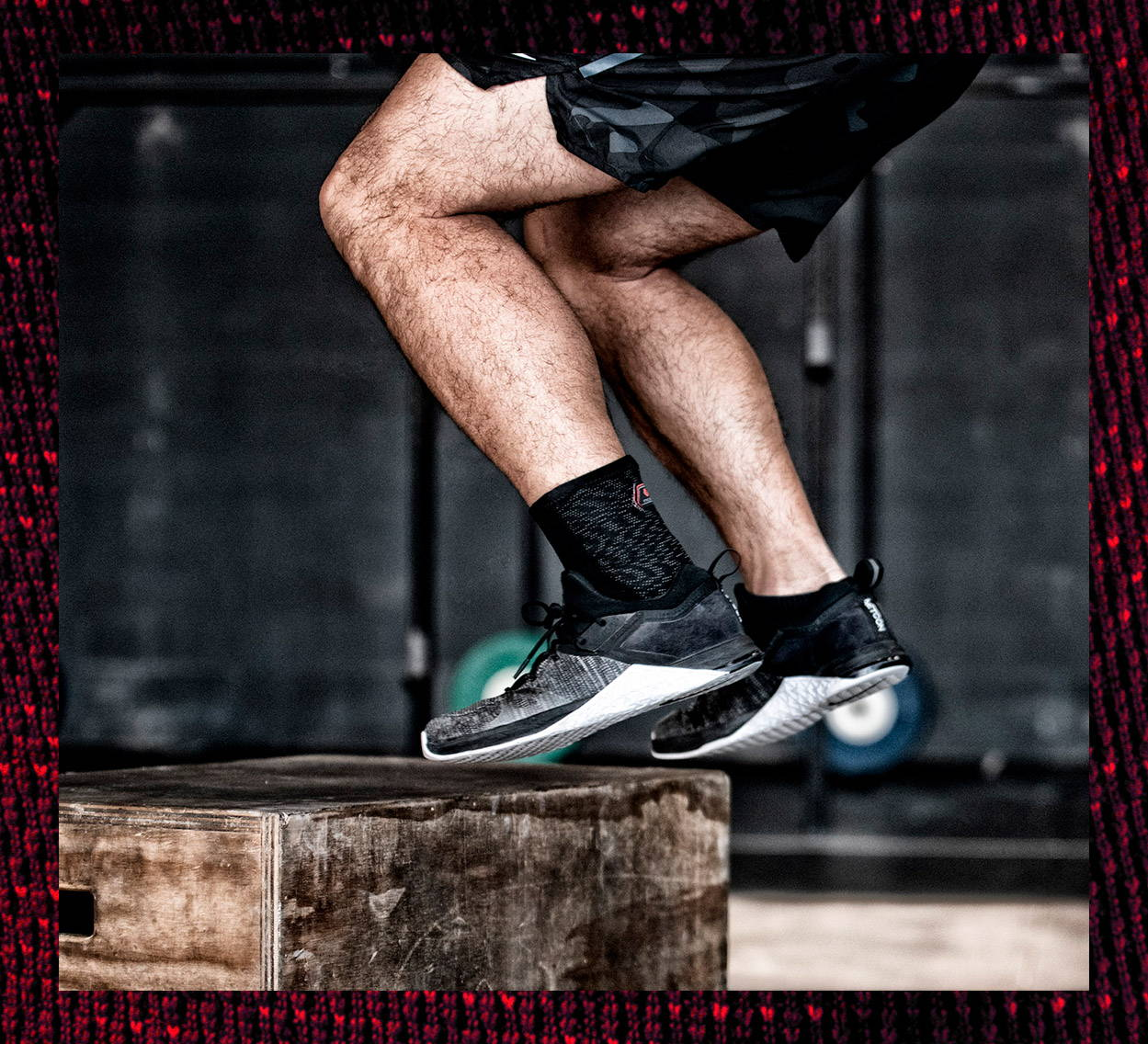 HyperBlend Ankle Sleeve Lifestyle, CrossFit, Training, Ankle Support