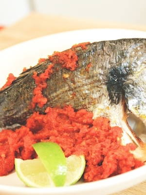 Baked Fish with Chilli Paste