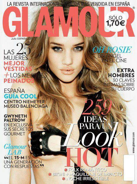 Glamour magazine fonts