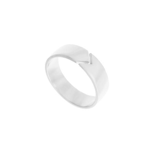 серебряное кольцо Стрела / Arrow