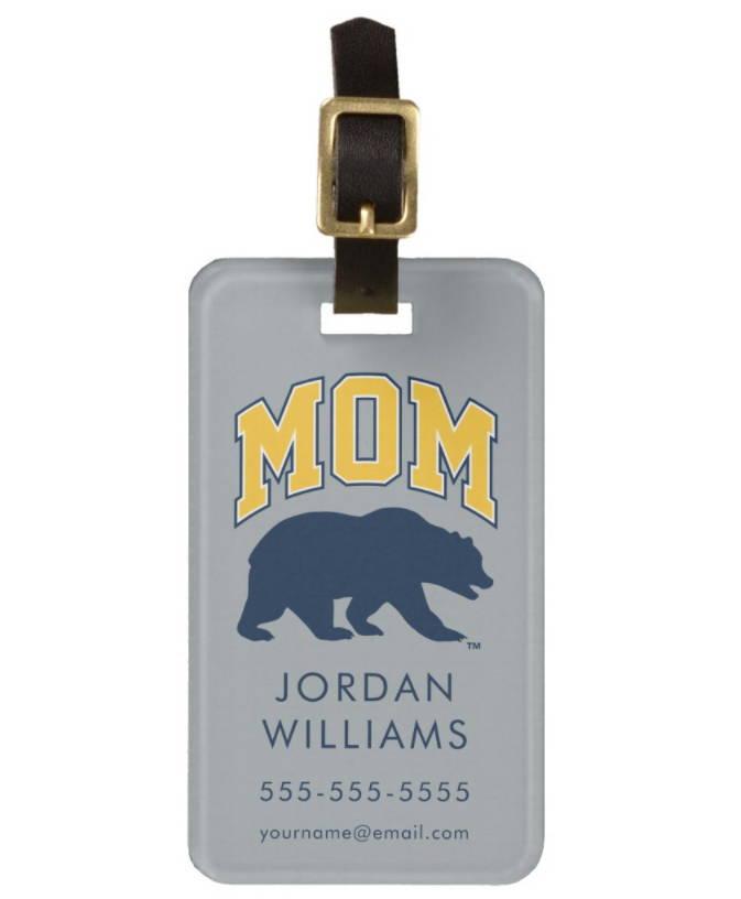 Blue Bear | Mom Luggage Tag