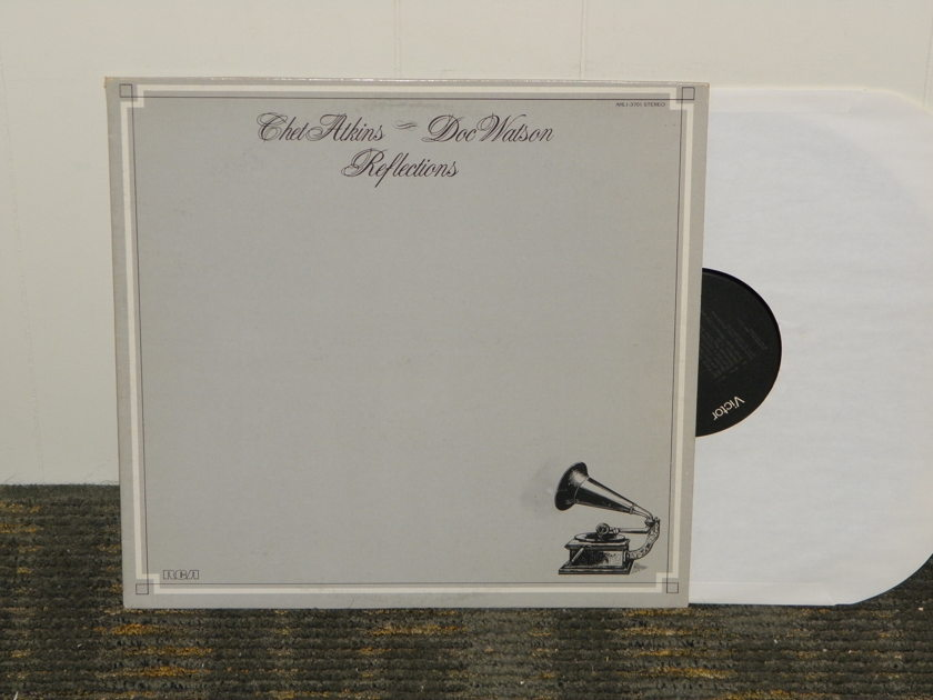 "Chet Atkins/Doc Watson    - ""Reflections"" RCA AHL1 3701 from 1980"