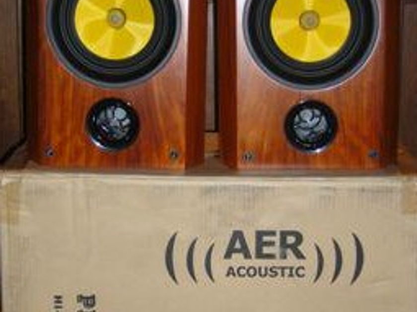 Exotic Rosewood AER Pisces Mkiii      w/Spectron X-over, (new)  SPECTACULAR!