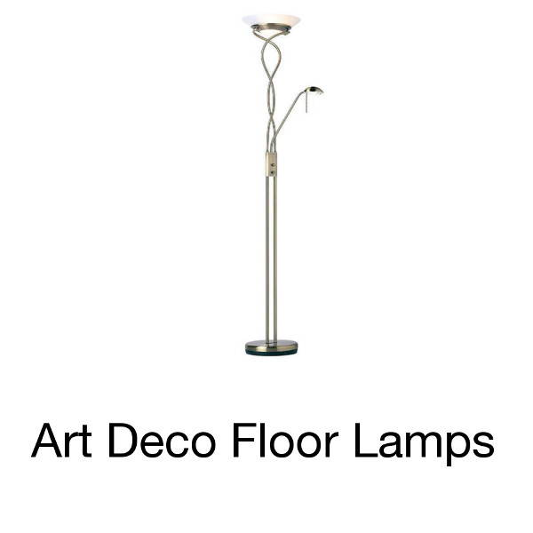 ART DECO FLOOR LAMPS