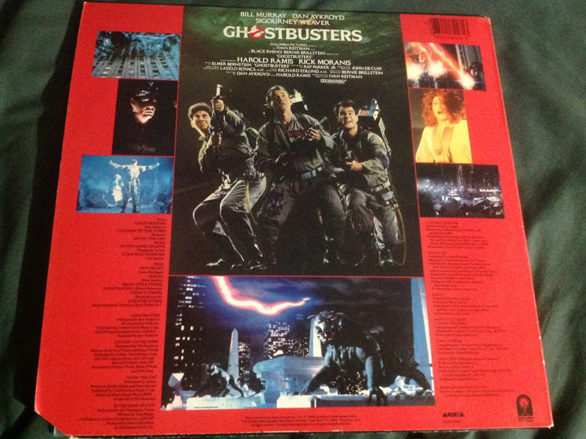 Soundtrack - Ghostbusters LP NM