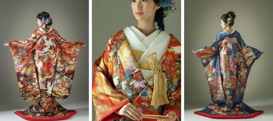 Iro-Uchikake Wedding Kimono