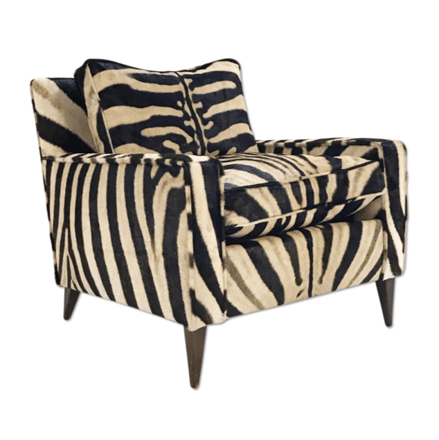Zebra Hide Chairs