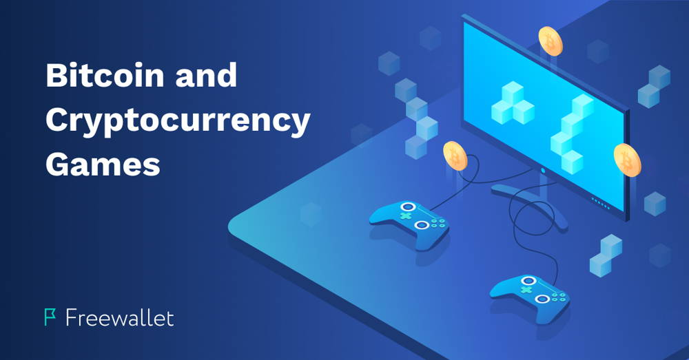 Gamepads and Display with Bitcoin and Cryptocurrency Games to Earn Digital Coins