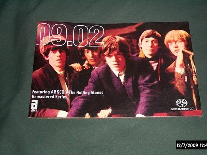 Rolling stones - Promo Sacd catalog