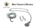 Marlyn Schiff Blue Charm Set