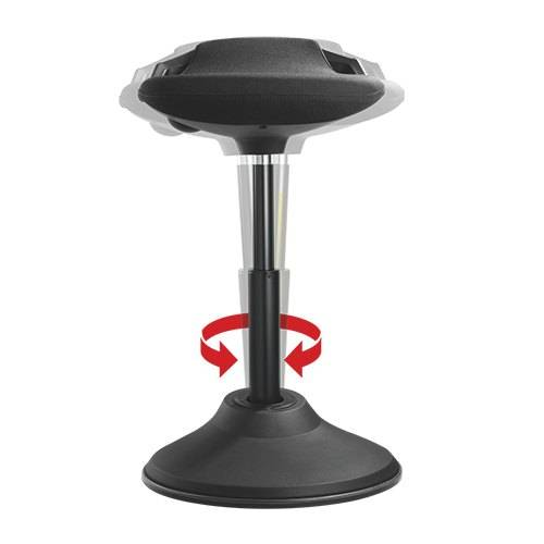 Comfort standing stool for sit stand desk perching