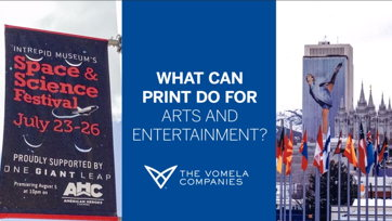 Image for What can print do for Arts and Entertainment