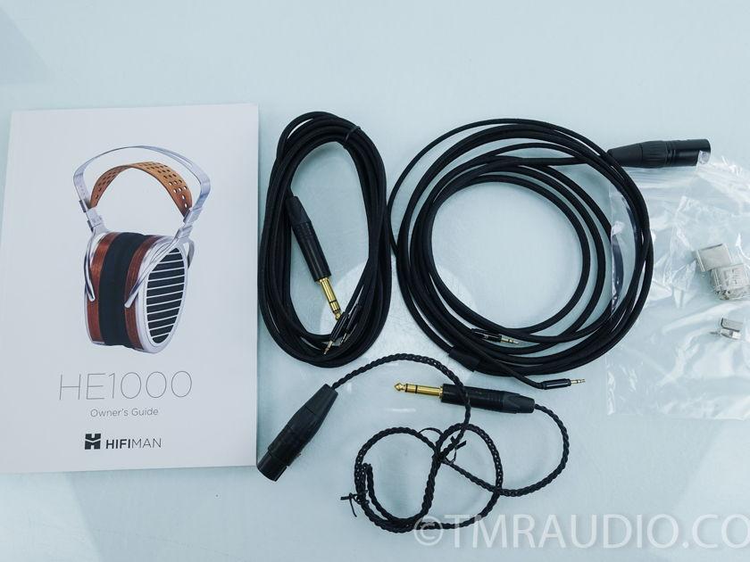 HiFiMan HE1000 Open-Back Planar Magnetic Headphones (7983)