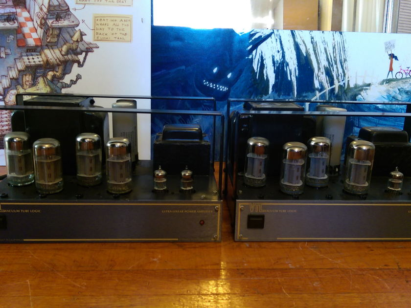 Pair VTL Compact 80 Monoblock Tube Amps - Great Condition