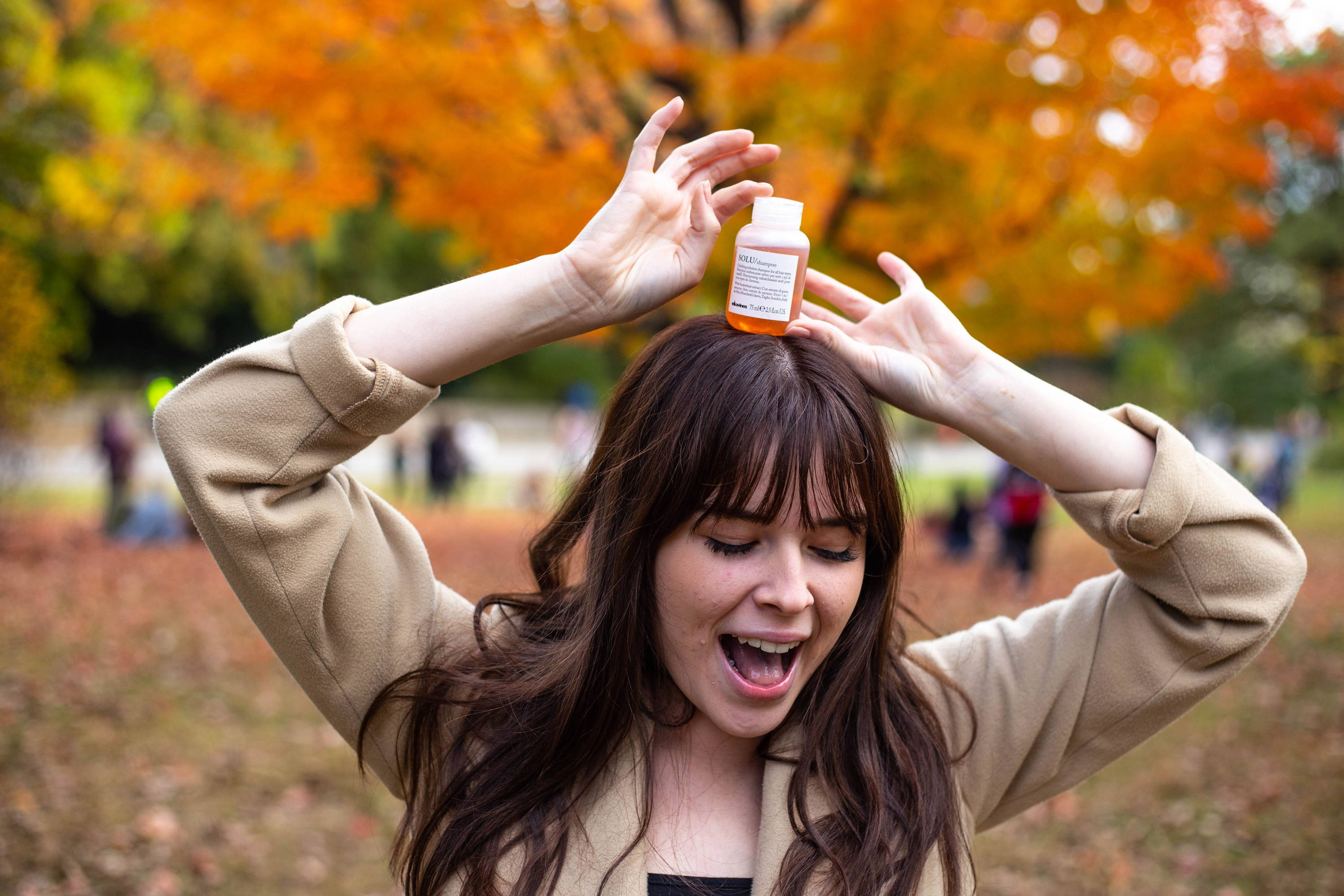 Clarifying products styling bangs Davines