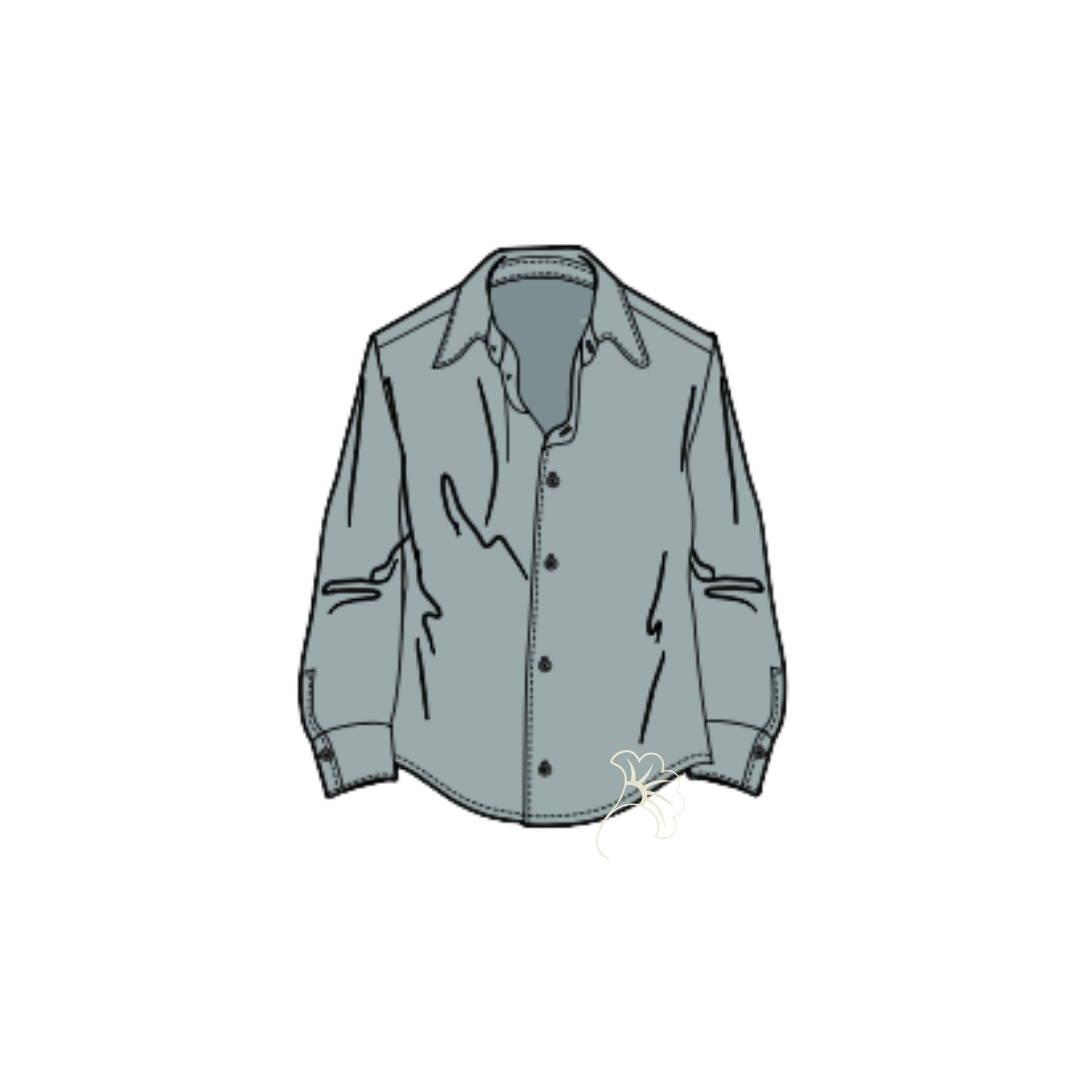 dessin de la chemise maison mixmélo