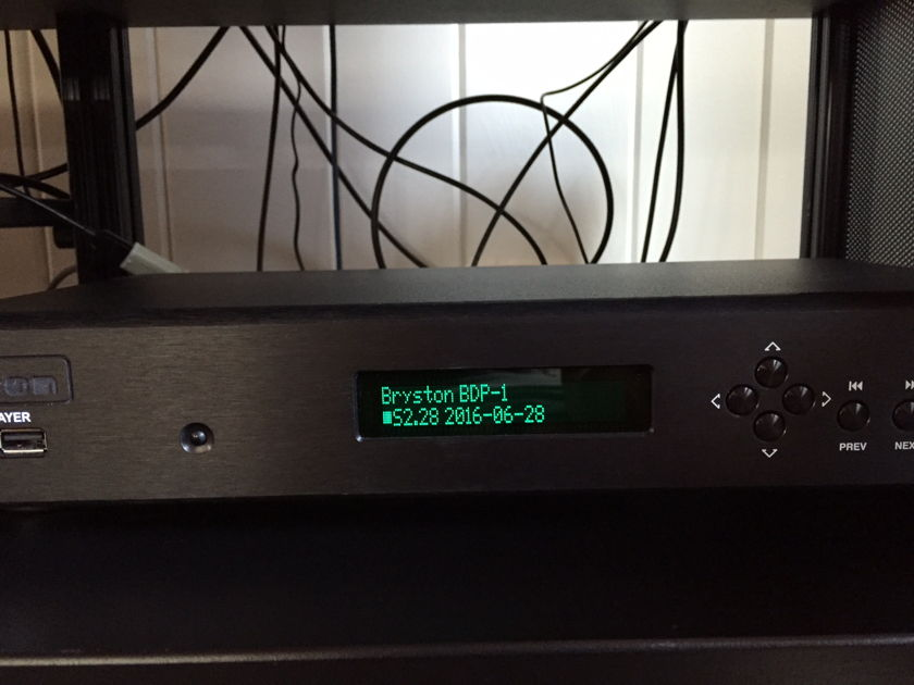 Bryston BDP-1 digital file player
