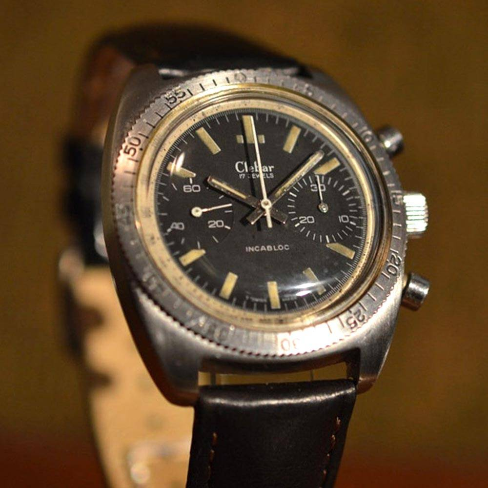 Clebar vintage watch