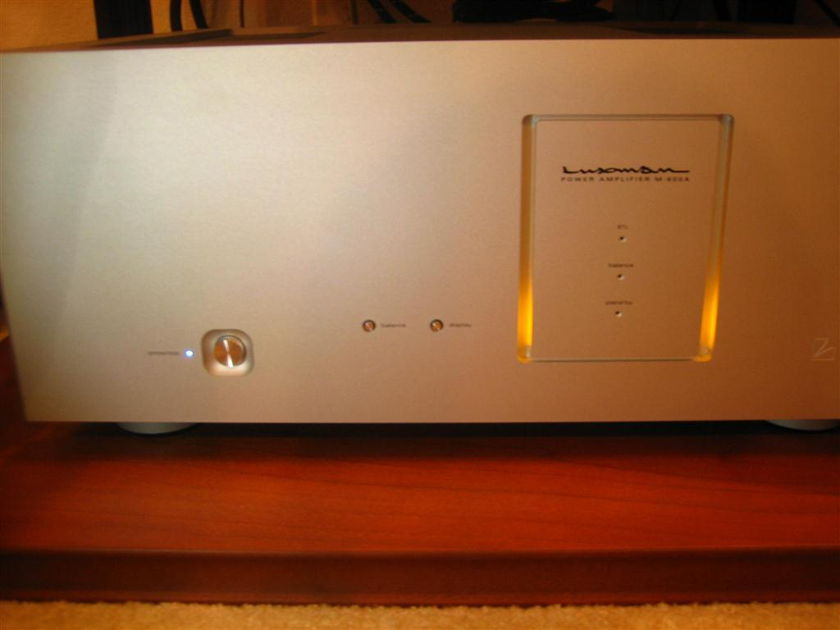 Luxman M-600a Pure Class A - FREE SHIPPING, NO PAYPAL, 50% OFF MSRP!