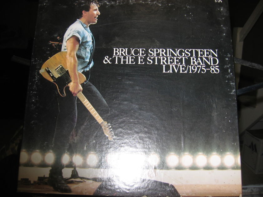 BRUCE SPRINGSTEEN - LIVE 1975-85 5 RECORD LIVE SET