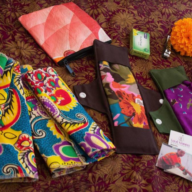 Kit menstruel pour lutter contre le Chaupadi