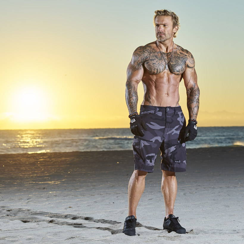 Outdoor resistance bands workout with Fitness expert James Grage