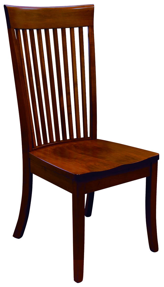 OW Shaker Style Solid Wood, Handcrafted Kitchen Chair or DIning Chair from Harvest Home Interiors Amish Furniture