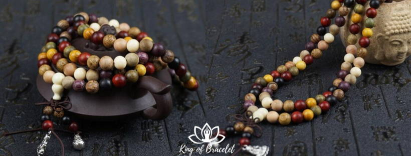 Bracelet en Mala Bois de Santal - King of Bracelet