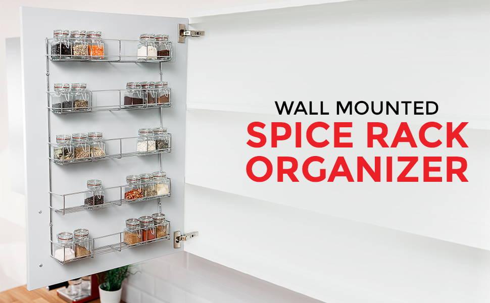 Multi-tier Spice Rack Organizer